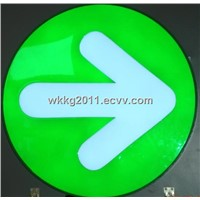 Led resin direction signs