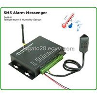 SMS Alarm Temperature Humidity Messenger