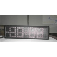 LED Time Date Temperature Display with CE