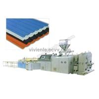 PVC Wavy Board Production Line