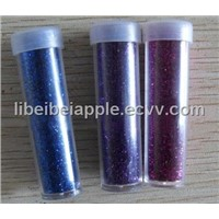 10 grams glitter powder in vessel