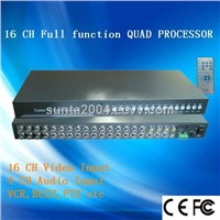 16 Channel Quad Processor, Color Quad System (ST916)