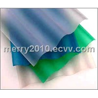 2010 Expo Polycarbonate Corrugate Sheet