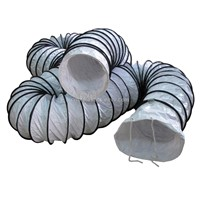 PVC Flexible Duct with Bugle Boot - 300mm*10m