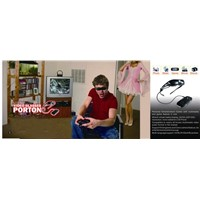 40 Inch Vision Video Glasses with Camera and Video Game