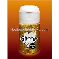 65 grams glitter powder in jars
