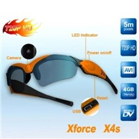 720p HD Videocamera Glasses - Support Max Memory of 32G