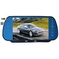 7 Inch Car Rear View Mirror with Bluetooth