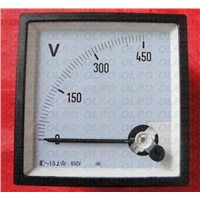 96T Series Analog Voltmeter