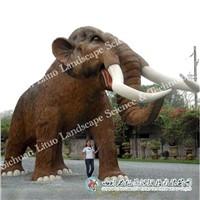 Animatronic Animal Model of Mammoth