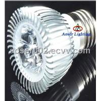 E27 GU10 MR16 3W LED Spotlight