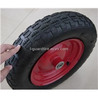 Wheel Barrow Tire /Garden Art Tire (4.00-8)