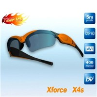 HD Video Camera Sunglasses with Built-In iPhone Camera (720P)