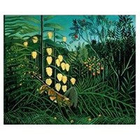 Henri Rousseau Oil Paintings
