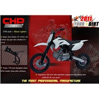 TTR Style Pitbike Model -- Black Lighten