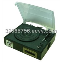 USB Turntable Player with Cassette Player & Recording (SPT-26)