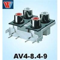 Audio Video Socket (AV4-8.4-9)
