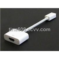 Mini Displayport to HDMI Adapter Cable/Mini HDMI Cable
