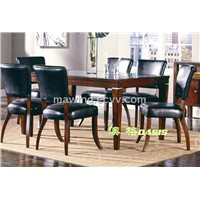 Leather Dining Furniture Set