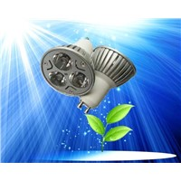 led spotlight with 3W GU10 85-264V AC used for replacement of halogen lamp