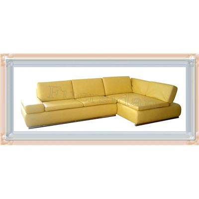 Modern design leather corner sofa set fm732 fm732 for Sofa 400 euro