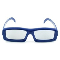 09 plastic circular polarized real d 3d glasses