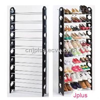 30 pair ten layer shoe rack