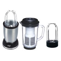 4-in-1 Juicer/Blender with Anti-overheat Device, 450mL Juicer Cup and 260mL Blender Cup