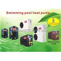Air to water swimming pool heat pump water heater