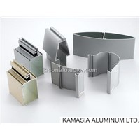 Aluminum profiles for shutters and frames