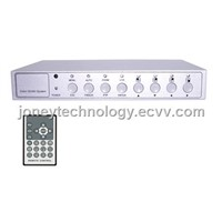 CCTV 4 channel video quad/Multiplexer