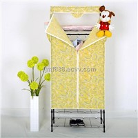 Clothes Wardrobe with Non-Woven Fabric