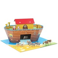 Corrugated Cardboard Toys Cardboard Playhouse for Children ENTO005