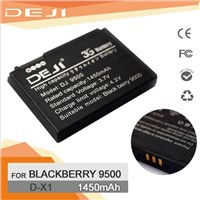 D-X1 Blackberry 9500 li-ion rechargeable mobile phone battery