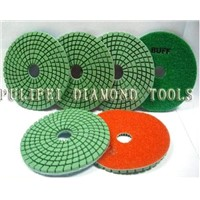 Diamond polishing pad - Abrasive tools