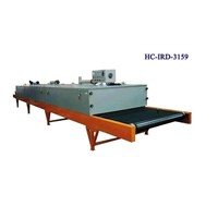 Far infrared conveyer dryer