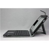 Ipad Protective Cases Leather Ipad Case with Bluetooth keyboard Solar Charger