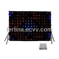 LED star curtain/LED curtain/LED Horizon DMX Curtain YK-413