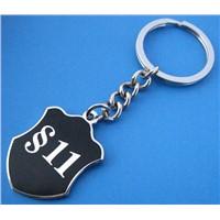 Metal Keychains Keyrings with Custom Logo