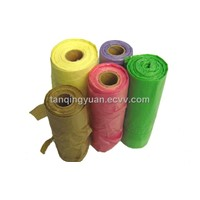 PE garbage bag on roll
