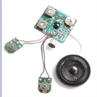 Recordable Sound Module with Pre - Recorded Sound, Voice, Music, Messages