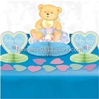 baby shower decoration suitable children used for table decoration