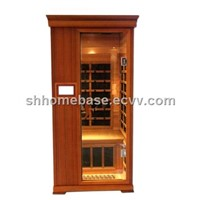 infrared sauna room canadian red cedar