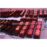 led time temperature display