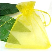 organza pouch with ribbon