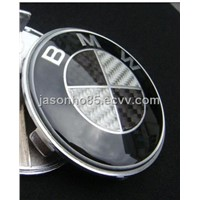 real carbon BMW car logo emblem