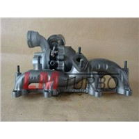 turbocharger BV39 for VW Golf,  Audi A3