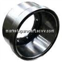 bake drum(brake drum,brake pad,brake disc,brake hub,brake lining, made in china)