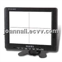 8 inch Industrial LCD Monitor with Built-in Software of Cross Line Display
