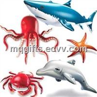 Inflatable Sea floor animal